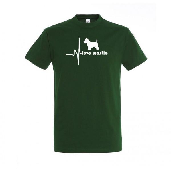 Tričko pre psíčkarov – Love Westie